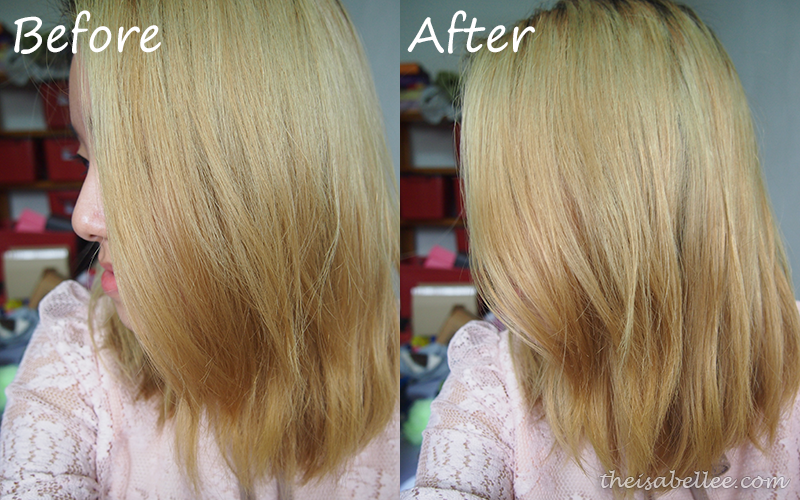 Using L'Oreal Absolut Repair Lipidium Haircare