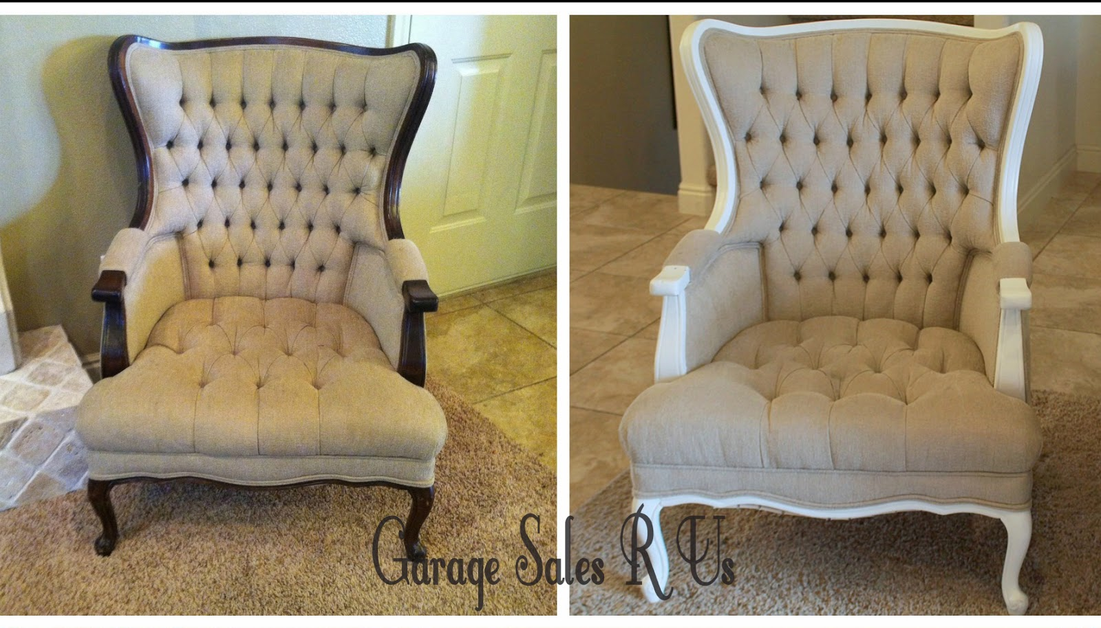 http://garagesalesrus.blogspot.com/2014/04/chair-transformation.html