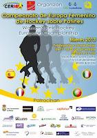 HOCKEY PATINES-Las españolas campeonas de Europa con solvencia