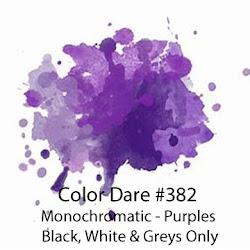 """Click Photo for Color Dare #382 """"Purple Monochromatic""""  - Closes Sunday Mar 5th"""