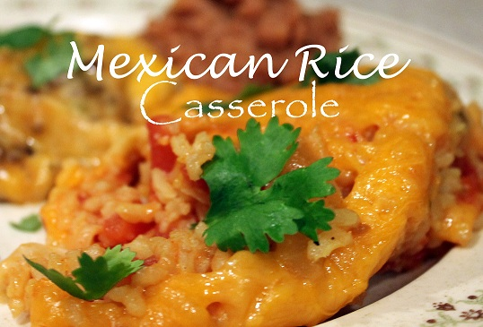Life. Family. Love.: Mexican Rice Casserole