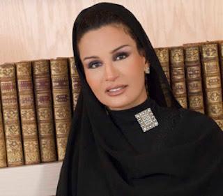 Foto Sheikha Mozah Qatar Wanita Muslim Cantik Terkaya di Dunia