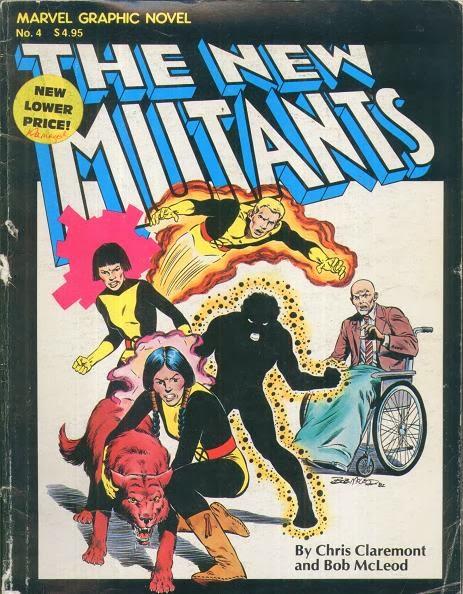 Marvel Graphic Novel #4 cover