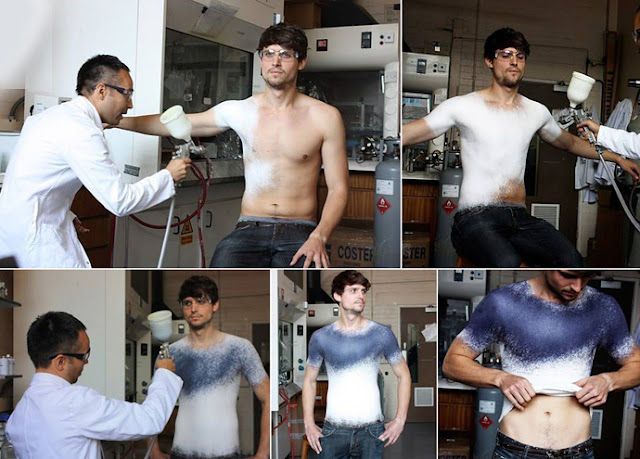 The New Fashion Concept: Designers Create World's First Spray On Cloth by Manel Torres