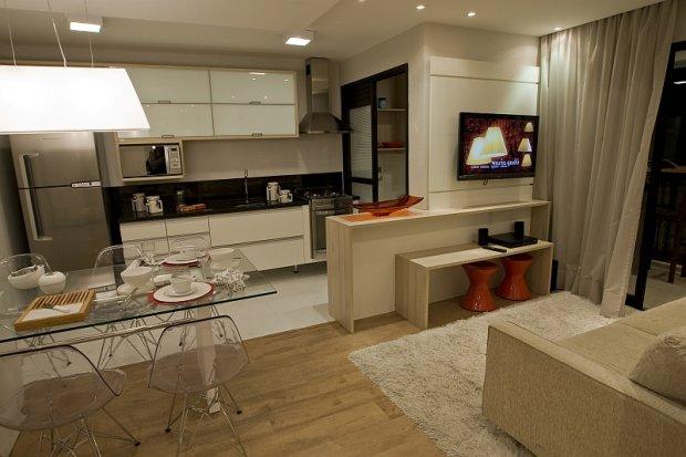 Ark arquitetura integrando pisos for Pisos para apartamentos pequenos