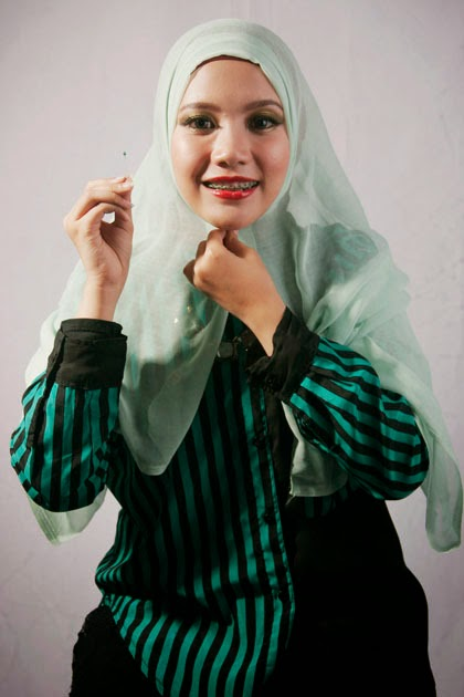 Tutorial Hijab Paris Aksen Wave 3