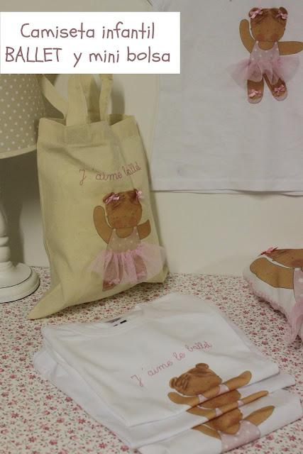 Bailarinas-ballet-camisetas-infantiles-personalizadas-Ballerinas