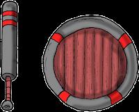 Espada y escudo