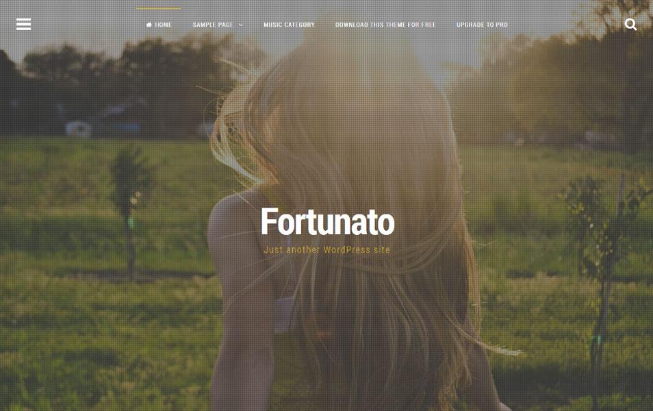 Fortunato Responsive WordPress Theme