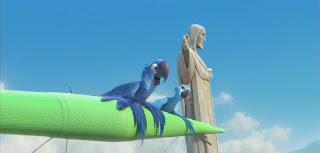 Cena do filme Rio