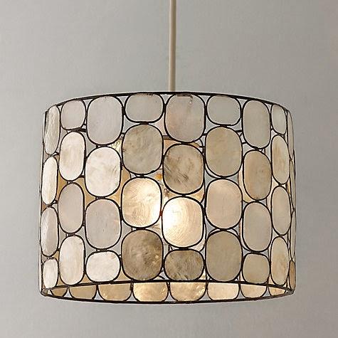 John Lewis lamp shade