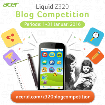 Ikuti Acer Z320 Blogging Competition