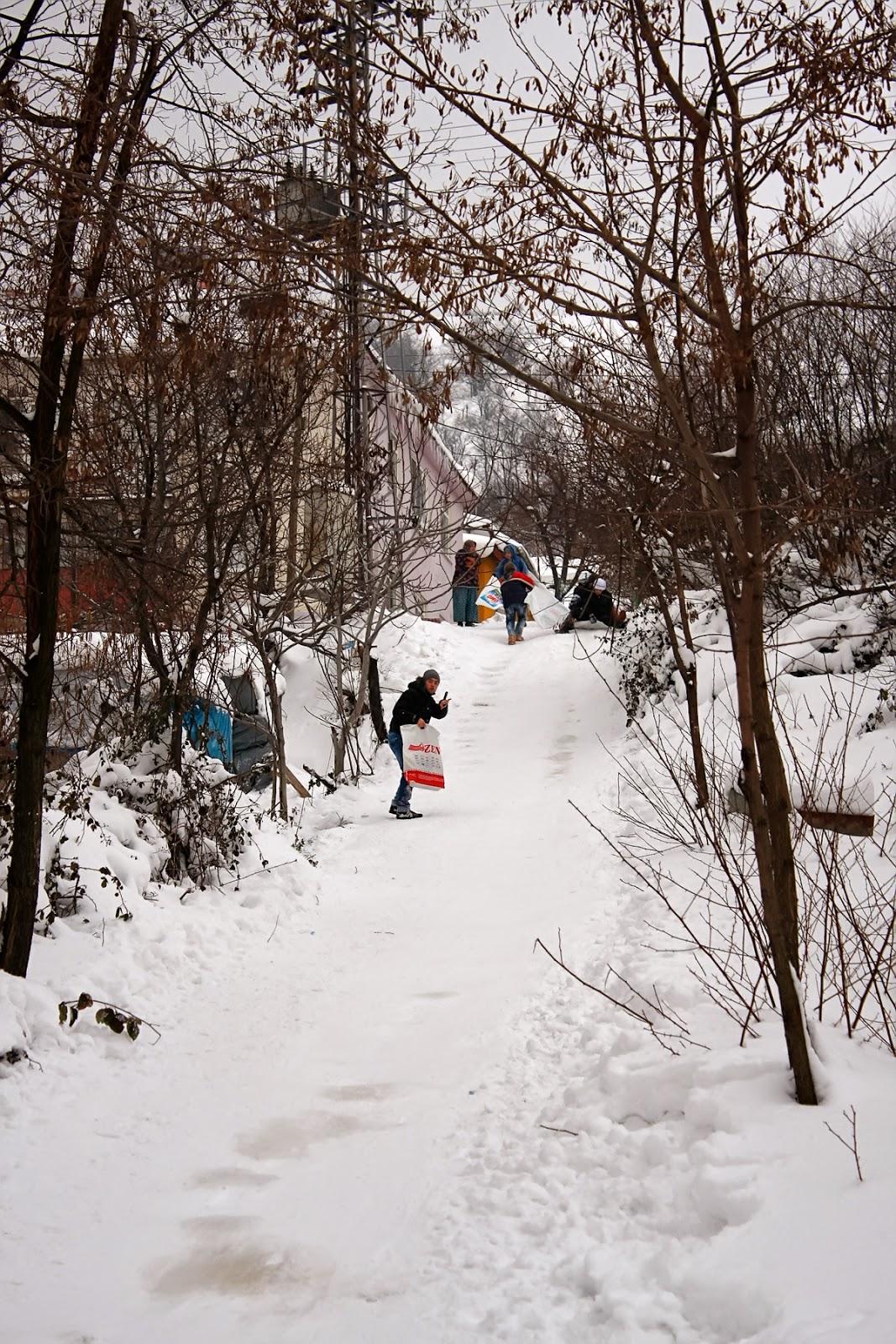 Sugören'de Kış - Karda Kayan Çocuklar-2