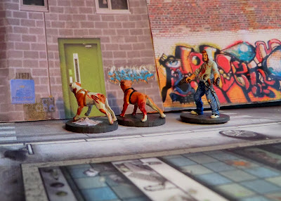 Zombicide, Zombie, Dog, Dogz, Puppy, Josh, painted