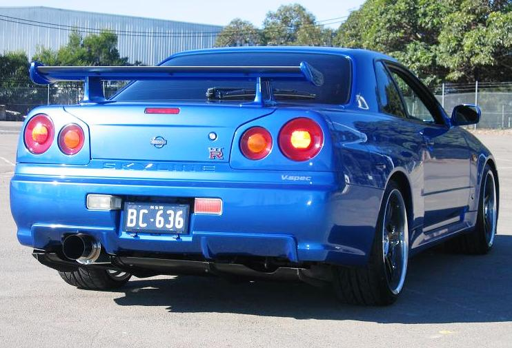 nissan skyline r34 gt r fast and furious 4 car automotive todays. Black Bedroom Furniture Sets. Home Design Ideas