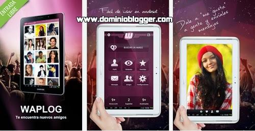 Encuentra pareja en internet en la red social de Waplog para Android