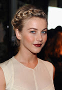 Julianne Hough Updo Braid Hairstyle