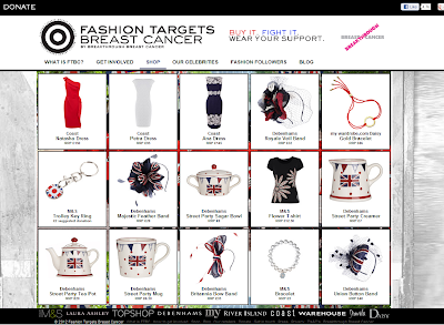 Fashion Targets Breast Cancer, Breakthrough Breast Cancer, Jubilee charity