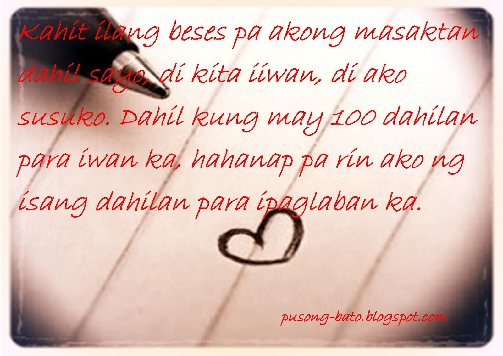 Tagalog Love Quotes Teenage Quotes About Love Tagalog  Dobre For