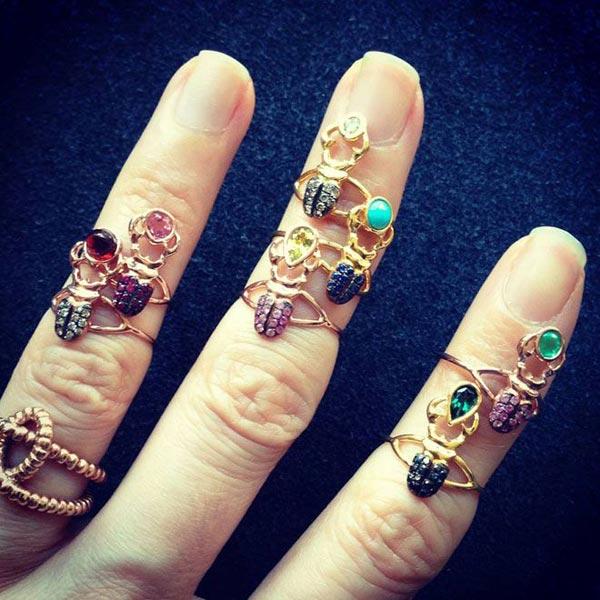 anillos finos