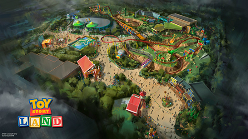 Information regarding the new Toy Story Land to be built in Disney's Hollywood Studios in Orlando, Florida.