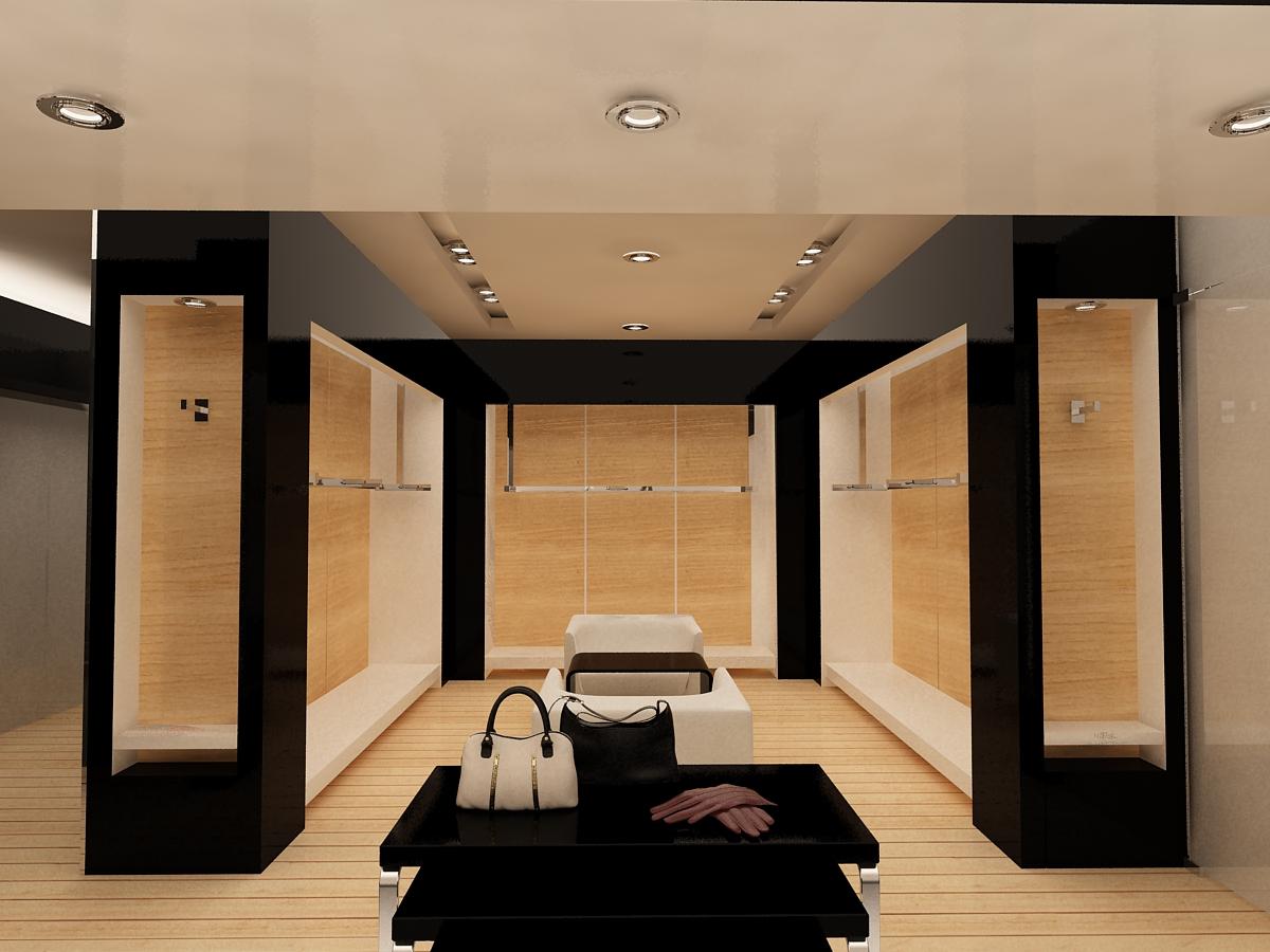 dise o de espacios interiores proyecto azabache boutique