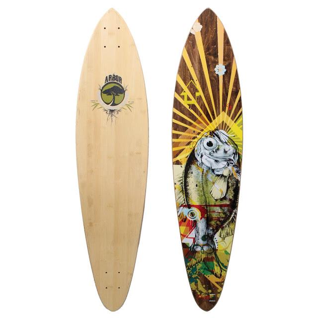 Bamboo Longboard6