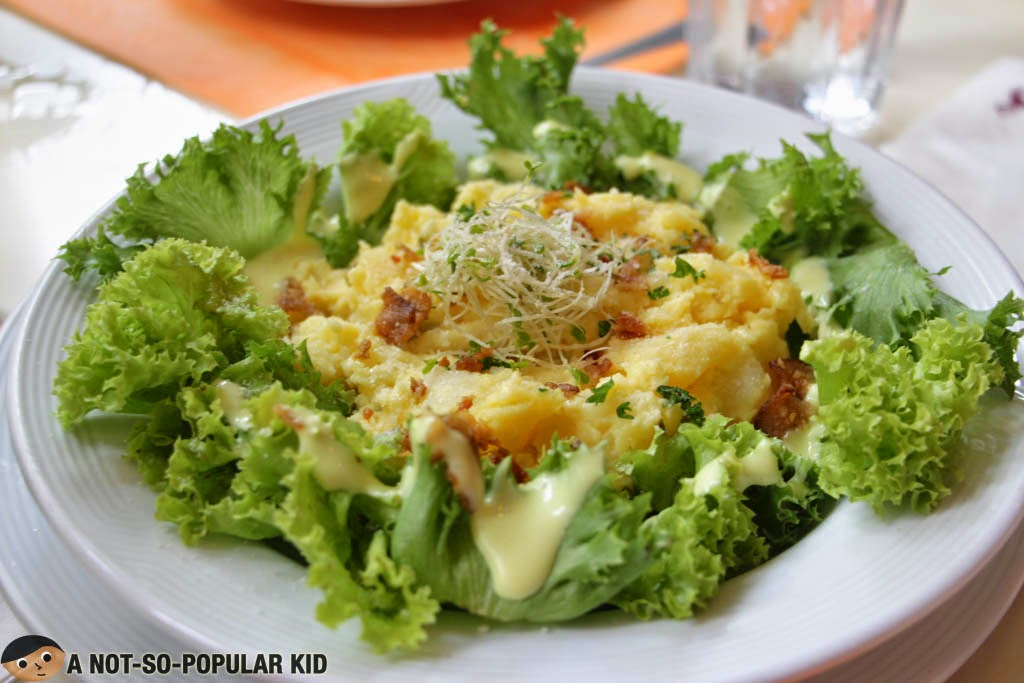 Warm Bacon Potato Salad - best salad in town!