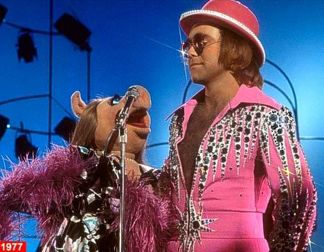 Elton John Finger Puppet