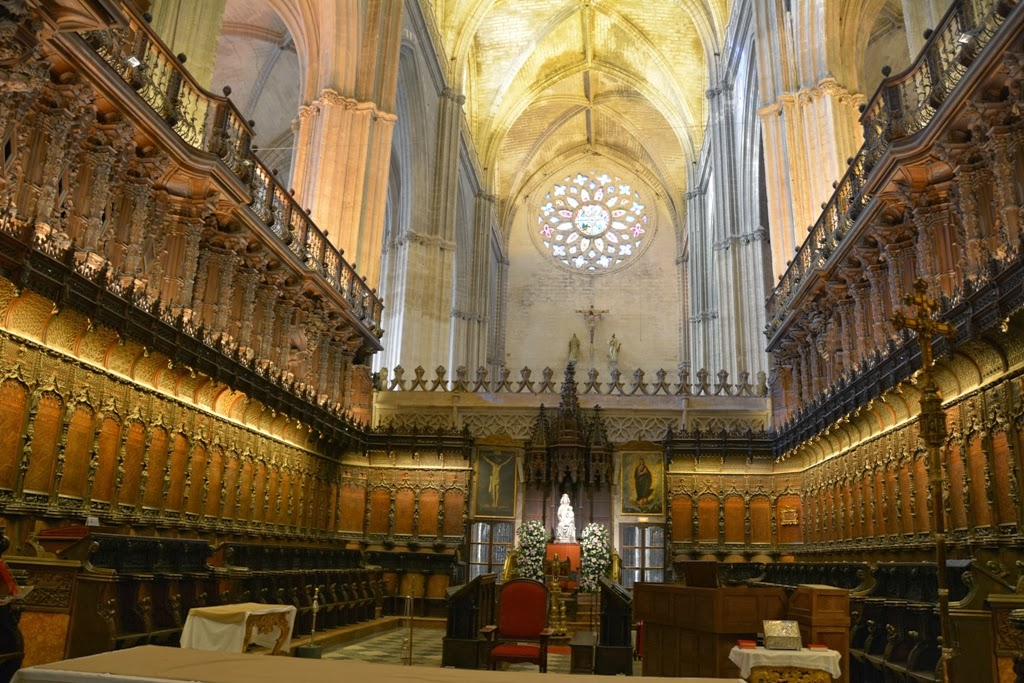 Cathedral of Sevilla choir