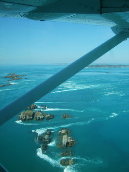 Sea plane to Horizontal Falls