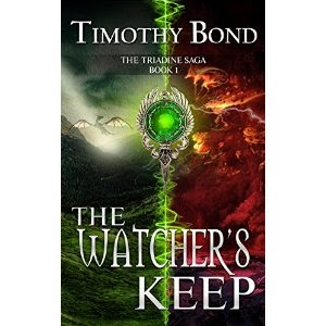 timothy bond author, timothy bond, triadine saga, the watcher's keep
