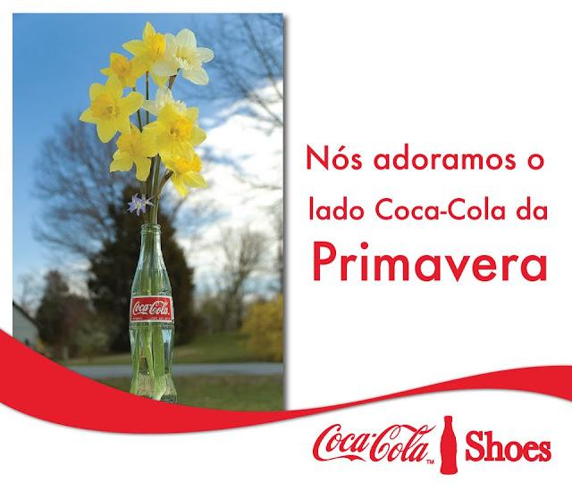 Vaso de garrafa de Coca-Cola