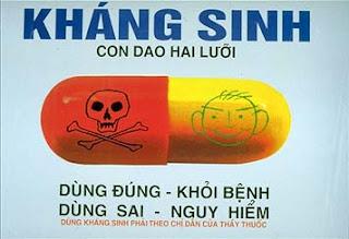 Không biết cách sử dụng kháng sinh sẽ  rất nguy hiểm. Ảnh minh họa.