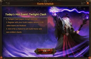 League of Angels Twilight Clash