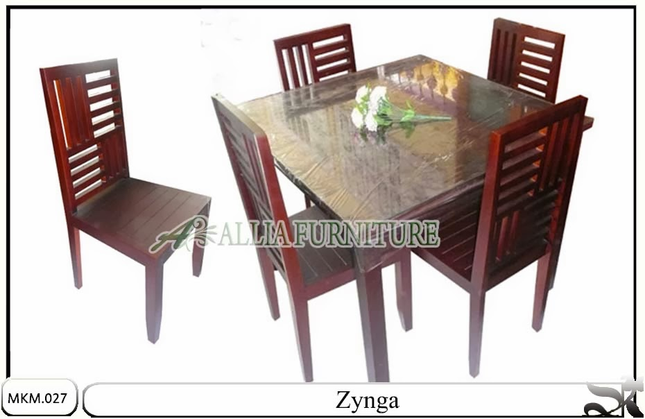 Kursi makan model minimalis set zynga