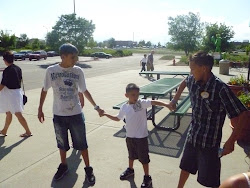 Dj with his cousins Troy & Rome