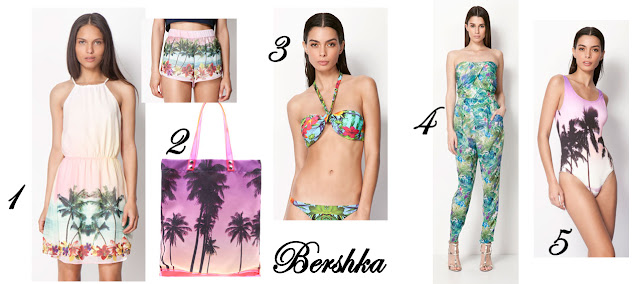 Estampado Tropical Bershka