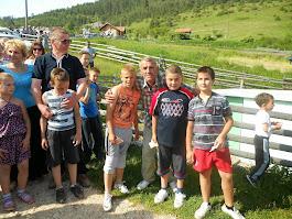 Pobjednici trke djece do 10 god. 08. juni 2014. god