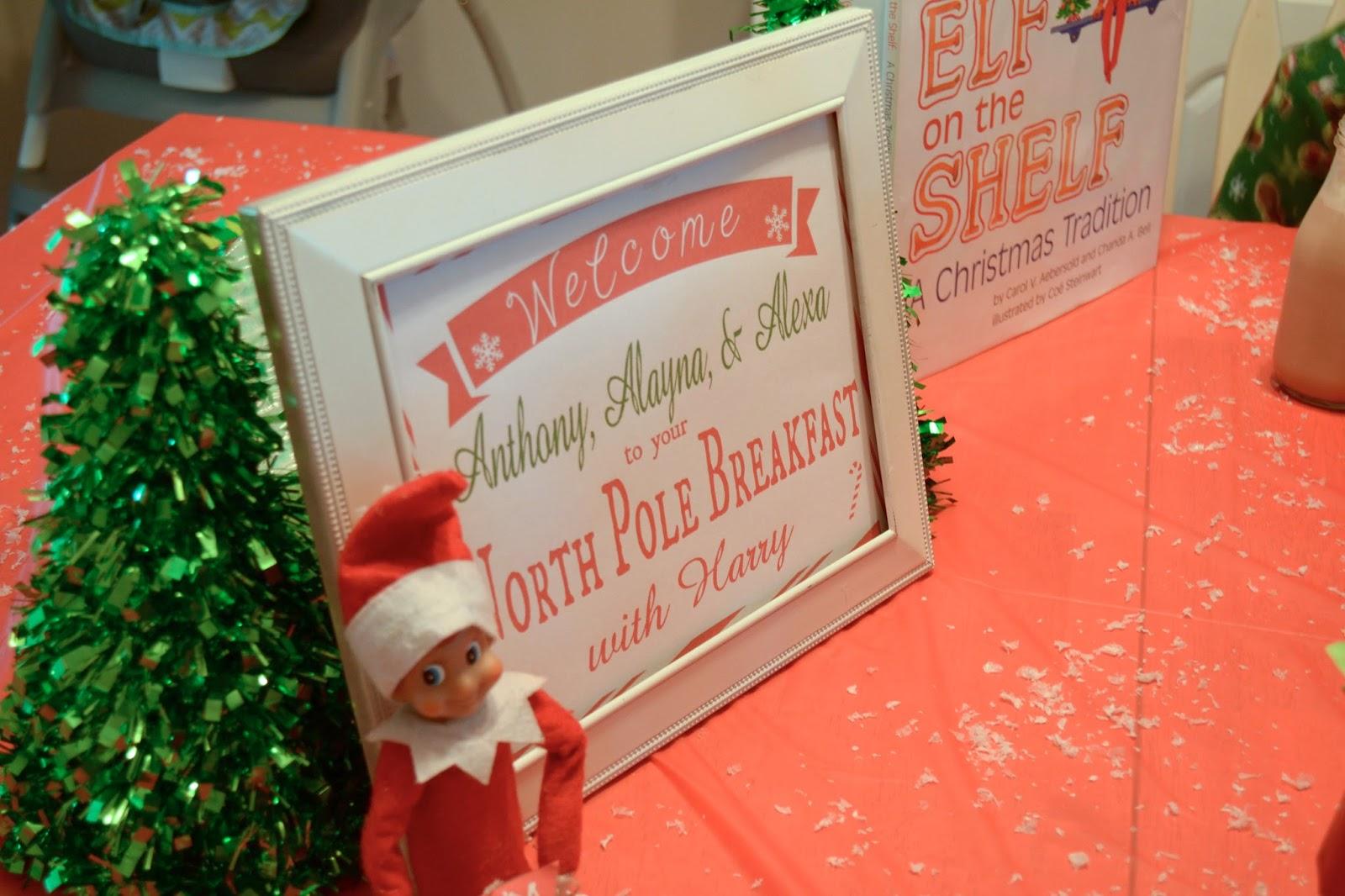 It\'s A Mom\'s World: North Pole Breakfast 2015