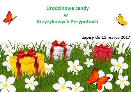Urodzinowe candy w Krzyżykowych Perypetiach