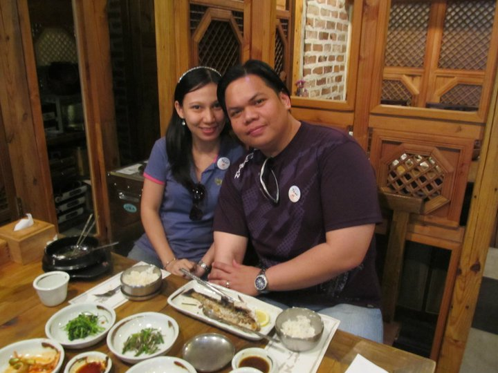 South Korea Seoul Food Insadong