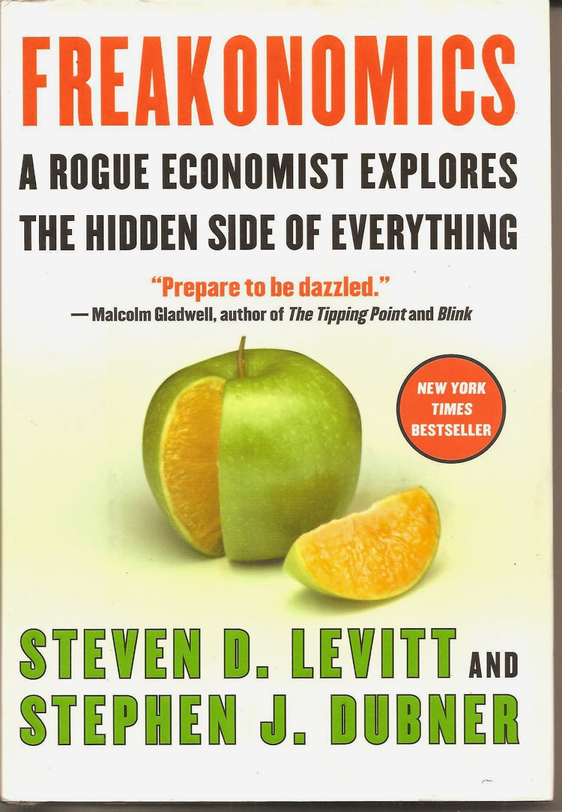book review freakonomics Freakonomics is a great eye opening book to see how economics plays a massive role in every aspect of our society.