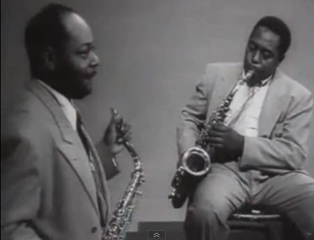 Coleman Hakins y Charlie Parker
