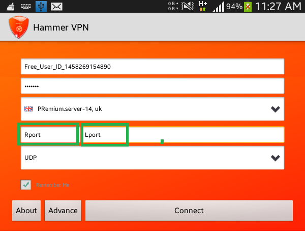 Ssh vpn on android