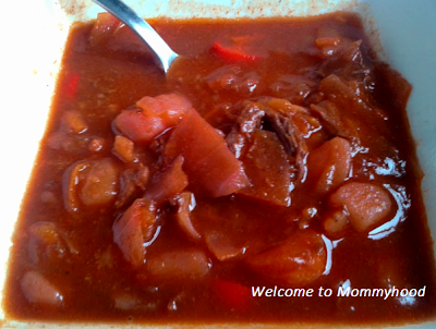 Welcome to Mommyhood: healthy soup recipe Borscht