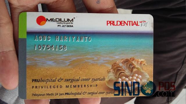Kartu Member Prudential
