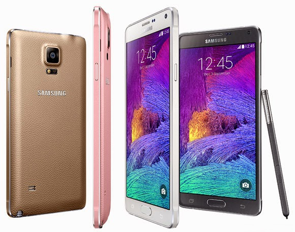 Samsung Note 4 - Four Colors