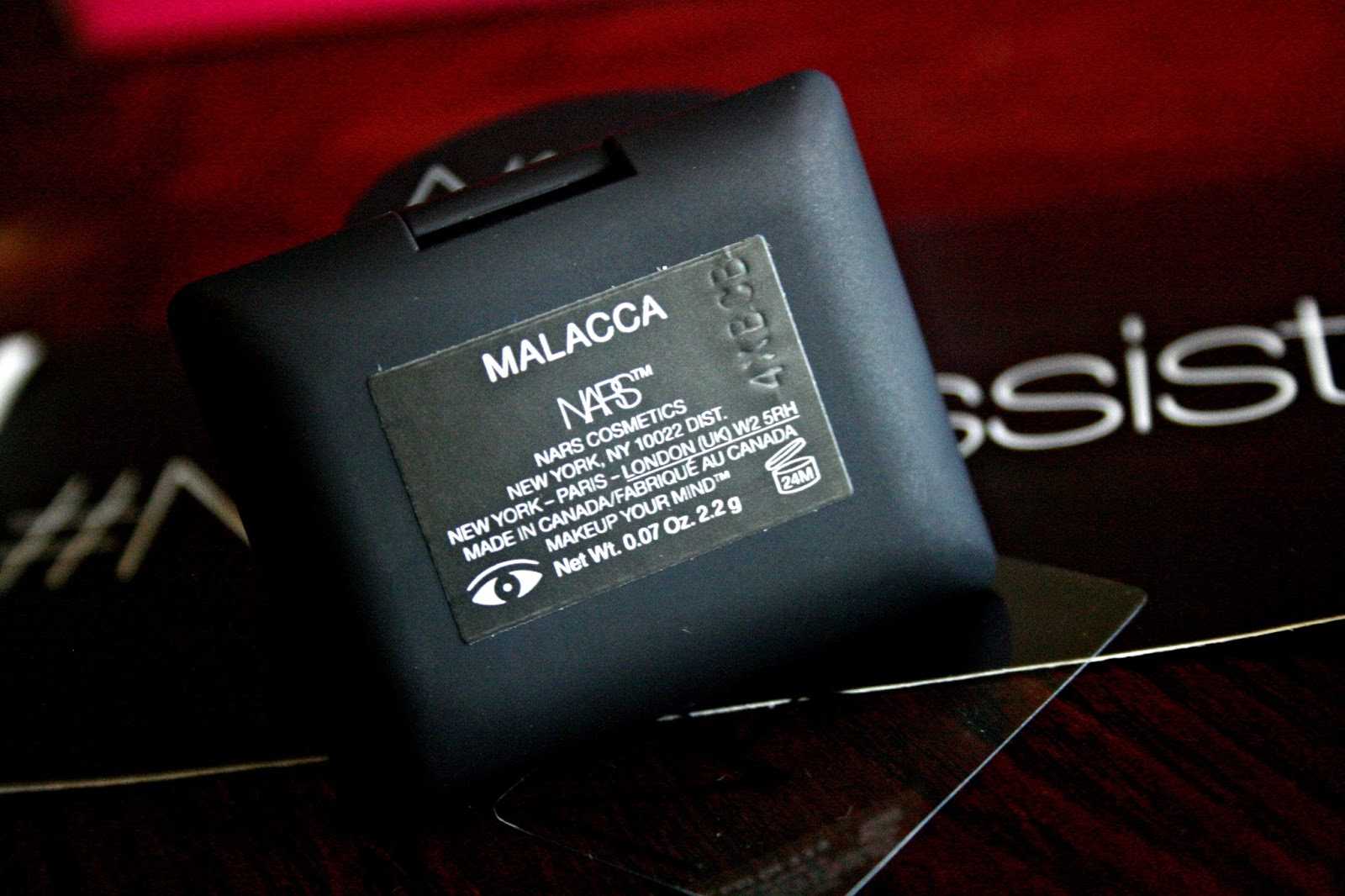 NARS Malacca Shimmer Eye Shadow NARS Adult Swim Summer 2014 Collection Review, Photos, Swatches, EOTD