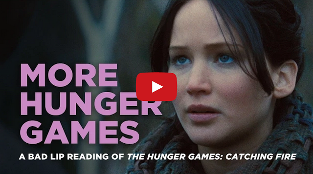 hunger games catching fire bad lip reading youtube videos